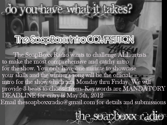 NEW COMPETITION! CALLING ALL EMCEES!